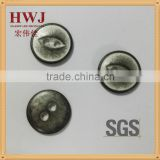 14mm 2 hole fish eye alloy button