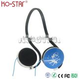 Fashionable Cool Light-Weight Comfortable Neck Holder Sports Headphones for music players mobile phones