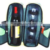 600D Wine Holder with 2 glasses