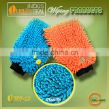 High water absorbent cheap wholesale microfiber wiping sponges with microfiber chenille material