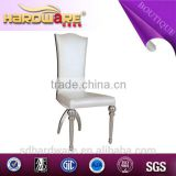Modern furniture malaysia stainless steel pipe dining chair