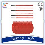 12k silicone rubber insulated carbon fiber electric heating wire cable
