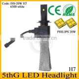 H7 socket led bulb!! high power led headlight h4 h7 h9 h11 led headlight replace halogen bulb