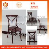 Brown Cross Back Chair for event