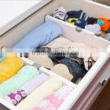 2016New design plastic Expandable Drawer Divider Adjustable drawer dividers                                                                         Quality Choice