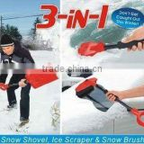 Collapsible 3 in 1 Snow Shovel