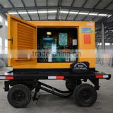 mobile trailer silent 10kw diesel engine generator