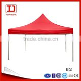 2016 popular light design aluminum frame pop up in seconds folding canopy tent marquee tent