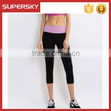 Y09 Yoga Waistband Stretch Pants Athletic Comfort Sports Pants GYM Fitness Leggings
