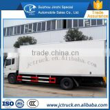 The electric control High Performance cooling food refrigerator truck transport direct selling price