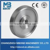 Steel pulley forging used for auto spare parts/Steel Cable Pulley Wheels