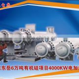 coke oven gas electric heater