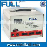 Hot sale SVC 1000VA single input motor type automatic universal voltage stabilizer for pump