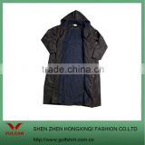 Hot!!! Ladies' black soft shell waterproof jacket with hood