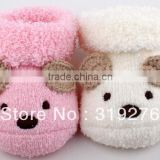 0-6M bear new born baby socks toddler's socks first walkers Baby Shoes booties Shoes Socks JPshoes172