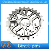 Chromed Alloy Oil Slick 25T BMX Bike Chainwheel Sprocket