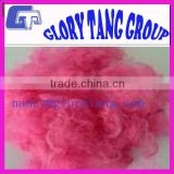 color polyester fiber for making the security paper