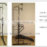 2015 hot chin up rack pull up statio dip station power rack vertical knee raise machine fitness equipment press bench
