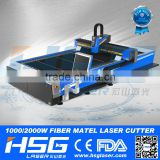 HSG 500w laser auto focus laser cutting machine for 4 mm thick metal materials HS-G3015C