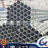 BS1139 & EN39 Scaffolding Use ERW Hot Dip Galvanized Construction Material Carbon Steel Pipe
