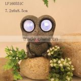 resin frogs solar led lights for crafts