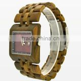 new arrivals 2016 china wood watch with big face for men