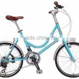 AiBIKE - STEP EASY - 20 inch 24 speed cruiser bicycle