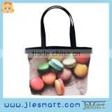 JSMART hand-bag Macaron advertising custom printing bag