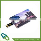 Promotional Credit Card Bank Card Shape USB Flash Drive Pen Drive Memory Stick Pendrive