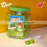 Dafa apple shape bubble gum,roll bubble gum