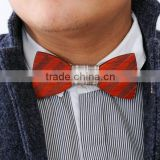 2016 Hot Fashion men Bamboo bow tie Accessory wedding Event hardwood Wood Bow Tie For Men Butterfly Neck Ties Factory