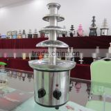 Hot Sale new heat stability Stainless Steel 110v/220v 4 Tiers cheap chocolate water fountain