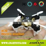 2015 Newest 4CM World's Smallest 6 Axis RC Mini Drone with Camera New Release Cheerson CX-10C CX10C
