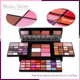 74 color cosmetic eyeshadow private label eyeshadow palette can oem