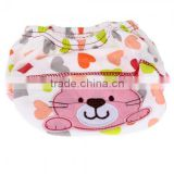 L'alysse Cotton Reusable Baby Infant Diaper Pant Waterproof Cover Training Cat Print
