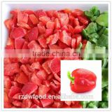 IQF Frozen Red Pepper Pieces