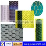 Hexagonal pvc coated mesh/pvc hexagonal wire netting materials/pvc coated fish cage hexagonal wire mesh