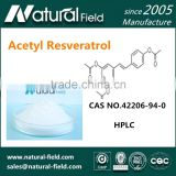 60 Days Money Back Guarantee Online Sales Acetyl Resveratrol 99%
