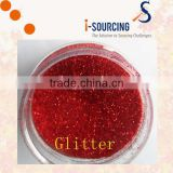 Solvent Resistance Nail polish Glitter many colors available