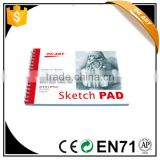 Sketch pad for painting,sketch pad for art supplier,good quality sketch pad,factory supplied sketched pad,sketch pad