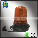 Super Bright Amber LED Flashing Light 12V Automotive LED Rotating Beacon Light
