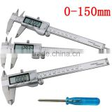 High Quality Electronic Digital Caliper Inch/Metric/Fractions Conversion 0-6 Inch/150 mm Stainless Steel Body