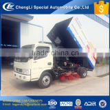 High efficient street cleaning road washing dust collecting 4x2 vacuum street sweeper truck for sale in Philippines