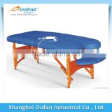 Acrofine wooden portable massag table