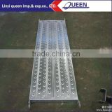 Stainless Steel Material and galvanized platform used in scaffolding/walk board/steel plank