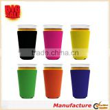 2017 Various Color Cup Sleeve Collapsible Pint Glass Cup Sleeve Quality Neoprene Cup Sleeve