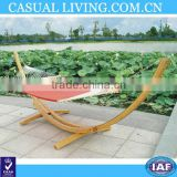 Wooden hammock stand cheap/ folding adjustable hammock wooden hammock stand with canopy