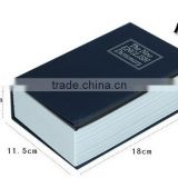 hot selling Fake Book with key lock book safe
