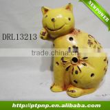 Factory Selling Antique Small Glazed Ceramic cat