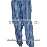 Latest jaipur pants indian trousers baggy fashion loose trousers printed aladin balloon pants